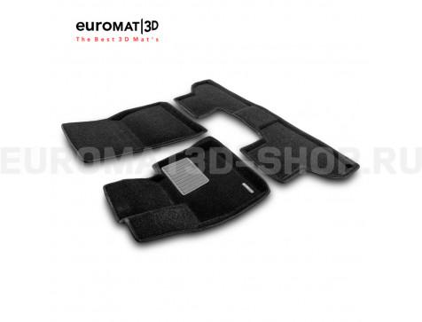 Текстильные 3D коврики Euromat3D Premium в салон для Bmw X5 (F15) (2015-) № EMPR3D-001215