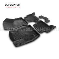 3D коврики Euromat3D EVA в салон для Skoda Octavia A7 (2013-2020) № EM3DEVA-004507