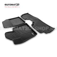 3D коврики Euromat3D EVA в салон для Kia Sorento Prime (2015-) № EM3DEVA-002925