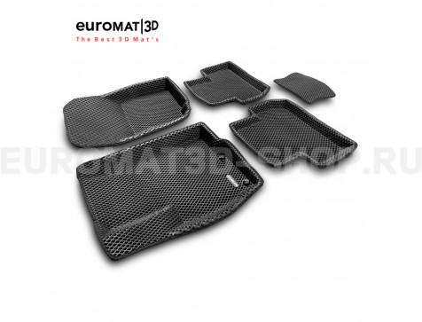 3D коврики Euromat3D EVA в салон для Citroen C4 Aircross № EM3DEVA-003600